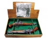 18TH CENTURY ENGRAVED DUELING FLINTLOCK BOXED SET