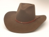 Brown Wool Renegade Cowboy Hat