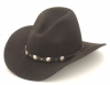 Gus Cowboy Hat - Black