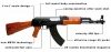 RAM AK47 Paintball Gun