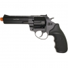 Zoraki R1 Revolver 4.5'' Barrel Black Finish - Front Firing Blank Gun