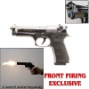 Jackal Chrome - Full Auto Replica Machine Pistol