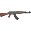 AK 47 ASSAULT RIFLE WITH WOOD STOCK