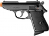 Lady K Front Firing Blank Gun Black Finish PPK