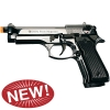 V92F Chrome- Blank Front Firing Replica Gun
