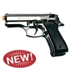 Dicle 8000 Front Firing Blank Gun Chrome Finish