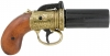 British Pepperbox Revolver - Brass