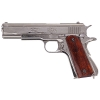 M1911A1 Nickel Finish Wood Gripped Field Strip