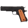 M1911A1 Black Finish Light Wood Grips Field Strip