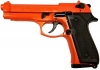 Replica M92 Semi Automatic Blank Gun Orange Finish