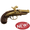 Civil War Philadelphia Derringer Cap Firing Replica Brass