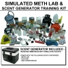 Simulated Meth Lab Training Kit with Scent Generator
