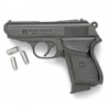 BOND AUTO, PPK 8MM BLANK GUN, BLACK FINISH