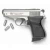 BOND AUTO 8MM BLANK GUN, NICKEL FINISH