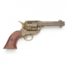 FAST DRAW OLD WEST REVOLVER GOLD ENGRAVING