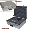 Silver Hard Sided Hand gun Case