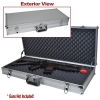 Silver Hard Sided Break Down Gun Case
