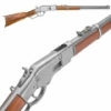 M1866 WESTERN RIFLE WITH LEVER ACTION GRAY FINISH