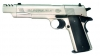 Colt Airguns- Gov't model 1911 A1 Air Pistol (Nickel w/Compensator)